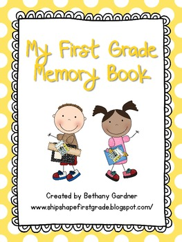 First Grade Memory Book Pages