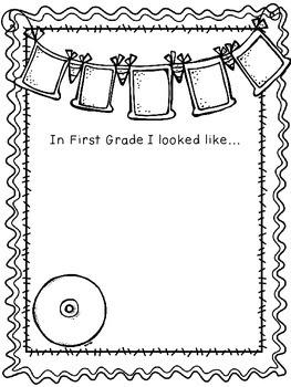 First Grade Memory Book- Rockstar Theme