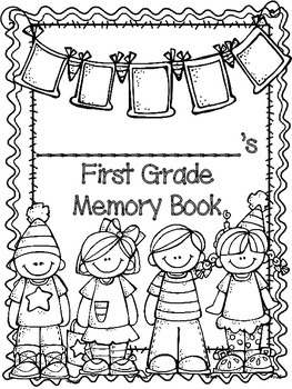 First Grade Memory Book (Seuss Friends)