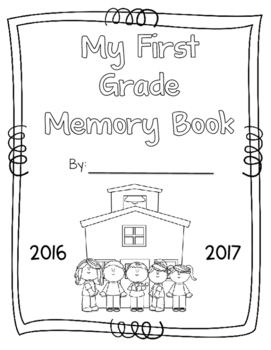 First Grade Memory Book and Year-Long Writing Portfolio