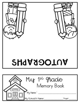First Grade Memory Flipbook