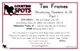 First Grade Mental Math PART 1 - Fluency to Ten Cards and