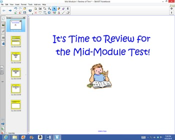 1st Grade Common Core Math Mid-Module 1 Review for Test