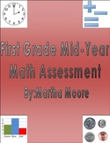 Math Assessment: First Grade Mid-Year