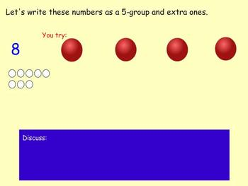 First Grade Mimio Math lesson 2