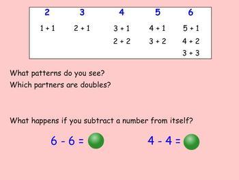 First Grade Mimio Math lesson 4