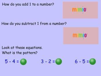 First Grade Mimio Math lesson 5