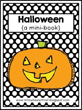 First Grade Mini Book: Halloween