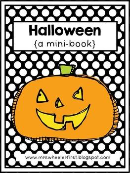 First Grade Mini Book: Halloween