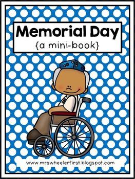 First Grade Mini Book: Memorial Day