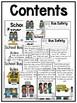 First Grade Mini Book: School Bus Rules