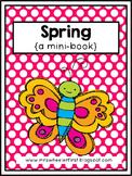 First Grade Mini Book: Spring