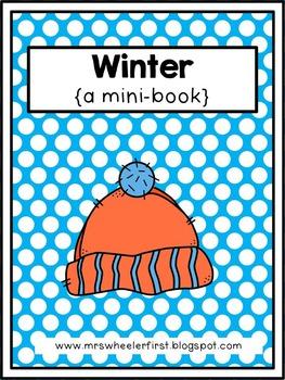 First Grade Mini Book: Winter