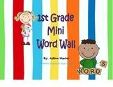 First Grade Mini Word Wall