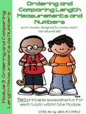 First Grade Math Module 3 Quick Checks