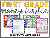 First Grade Money Activity Bundle