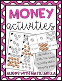 First Grade Money Activities