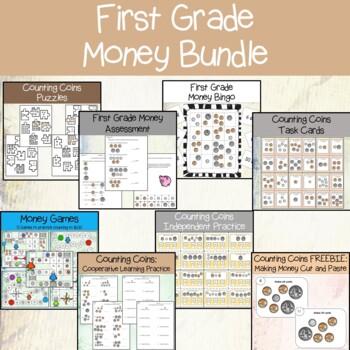 First Grade Money BUNDLE
