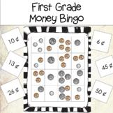 First Grade Money Bingo