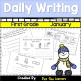 First Grade Daily Writing January