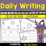 First Grade Monthly Writing Journals  October