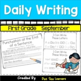 First Grade Daily Writing  September