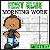 Month #7 Morning Work: First Grade Morning Work Packet