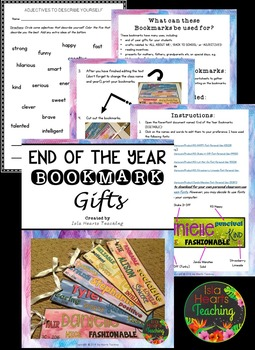 Student Gifts: End of Year Gifts from the Teacher