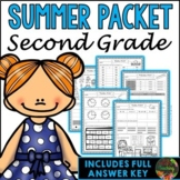 Second Grade Summer Packet (Second Grade Summer Review Homework)