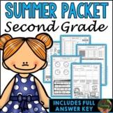 Second Grade Summer Packet (Second Grade Summer Review Homework)
