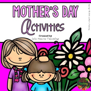 Mother's Day Activities (Mother's Day Worksheets, Flipbook, Coupons & Cards)