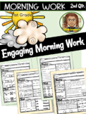 First Grade Morning Work 2nd Quarter (October, November, December)