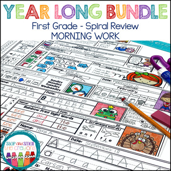 First Grade Morning Work Worksheets