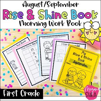 First Grade Morning Work Book August September