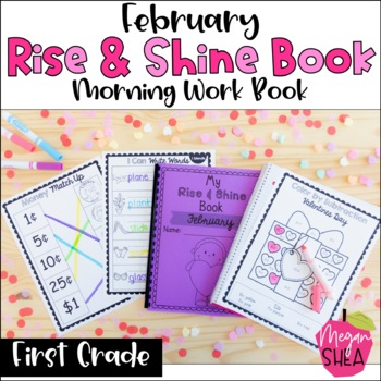 First Grade Morning Work Book February