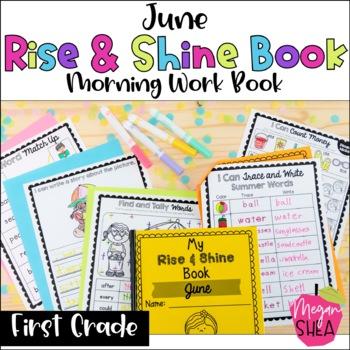 First Grade Morning Work Book June