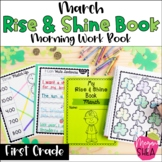 First Grade Morning Work Book March