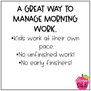 First Grade Morning Work Book November
