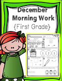 First Grade Morning Work - December