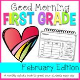 First Grade Morning Work {FEBRUARY}