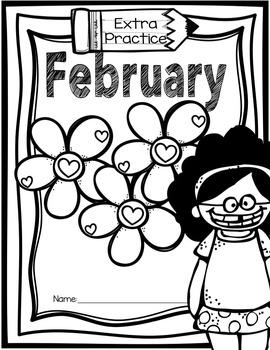 First Grade Morning Work - February