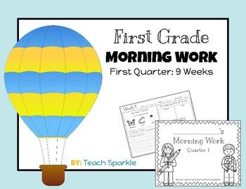 First Grade Morning Work (First Quarter: 9 Weeks)