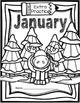 First Grade Morning Work - January