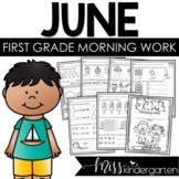 June Morning Work First Grade