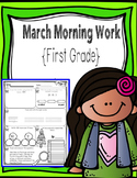 First Grade Morning Work - March