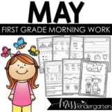 First Grade Morning Work {May}