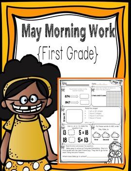 First Grade Morning Work - May