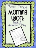 First Grade Morning Work Pack 2 (January-May)