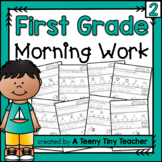 First Grade Morning Work - Distance Learning Part 2