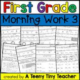First Grade Morning Work 3